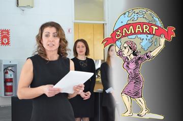Montreal Türk Kadınlar Derneği Başkanı Rabiye Sağ Şeşen