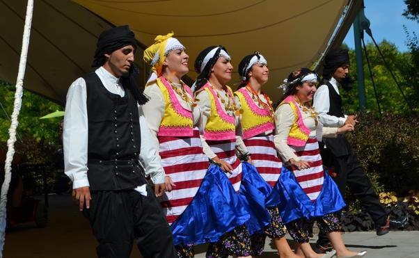 Danses folkloriques turques.