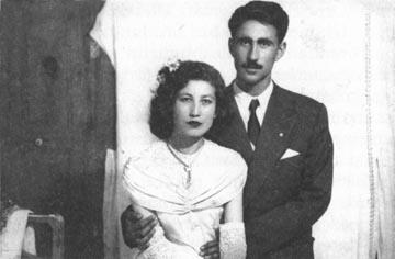 Osman - Nermin Bolulu. Evlilik fotoğrafları.