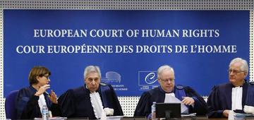 Avrupa İnsan Hakları Mahkemesi Büyük Daire yargıçları.