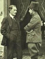 Atatürk ve İnönü.