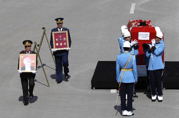 9. Cumhurbaşkanı Süleyman Demirel'in cenaze töreni.