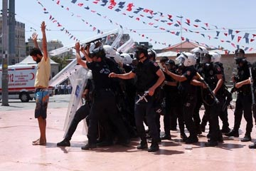 La brutalité policière
