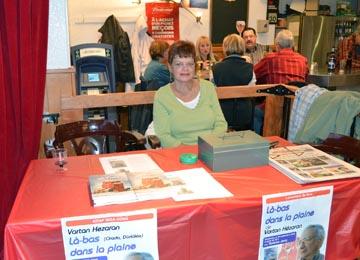 Le lancement du livre « Là-bas dans la plaine », organisé par le journal Notre Anatolie a eu lieu le 30 septembre dernier à la Taverne Jarry.