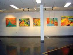 L'exposition de la peinture.