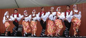 Les danses folkloriques d'Üsküp