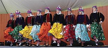 La danse folklorique de la région de Van.